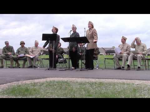 USO Show, WW II Weekend, Historic Fort Snelling, St. Paul, MN, June 8, 2013