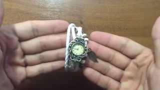 Стильные  Женские Винтажные часы Mimi Обзор