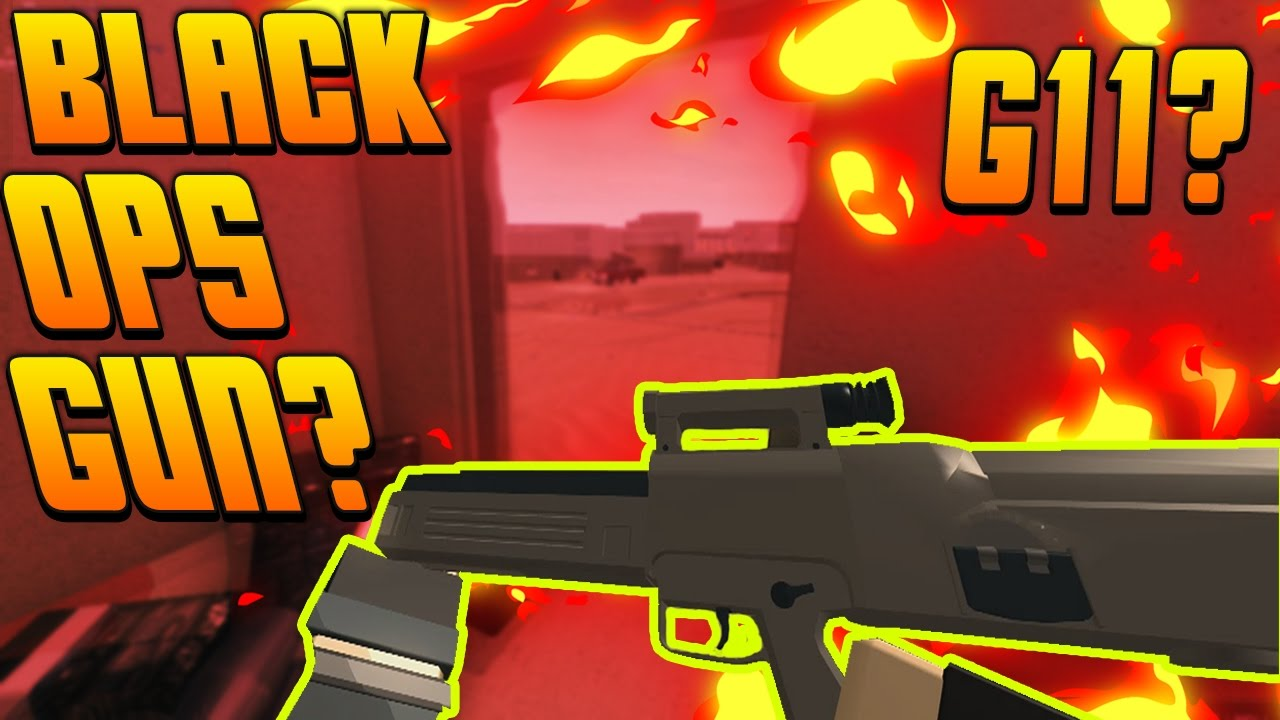 The New G36c Is Bad Roblox Phantom Forces New Update New G36 Models G11 From Blackops Roblox Phantom Forces By Supersanity