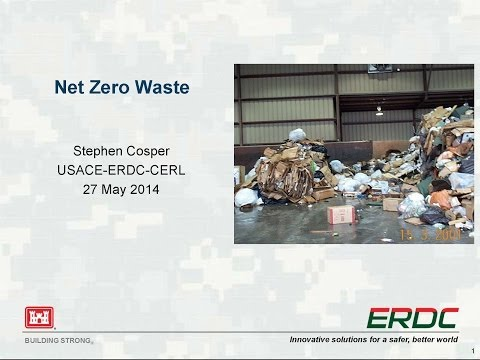 Net Zero Waste for Military Installations