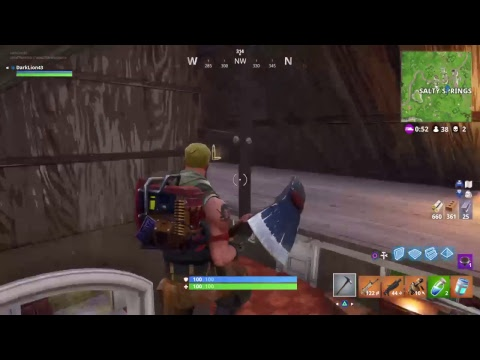 The reason why I haven't been posting much.../Fortnite Gameplay