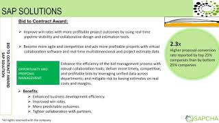 SAP PRESENTATION FOR ENGINEERING,PROCUREMENT & CONSTRUCTION COMPANIES