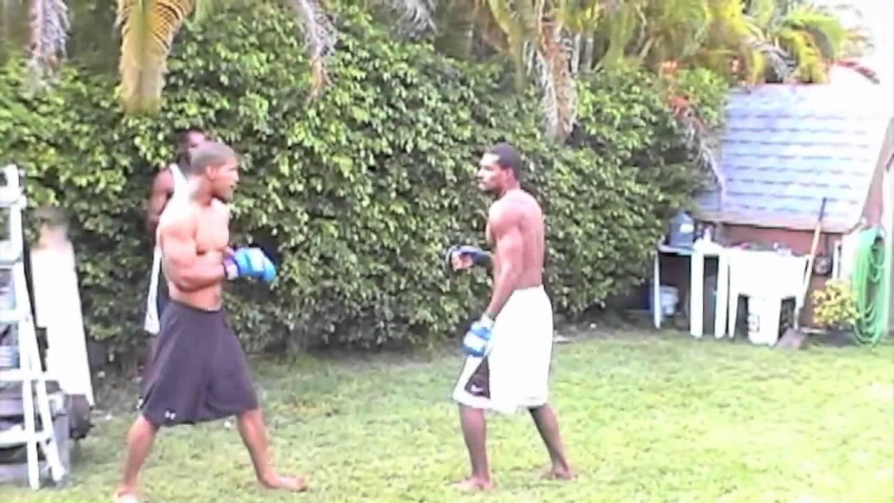 backyard fights --- mike v cubita !!!! - youtube