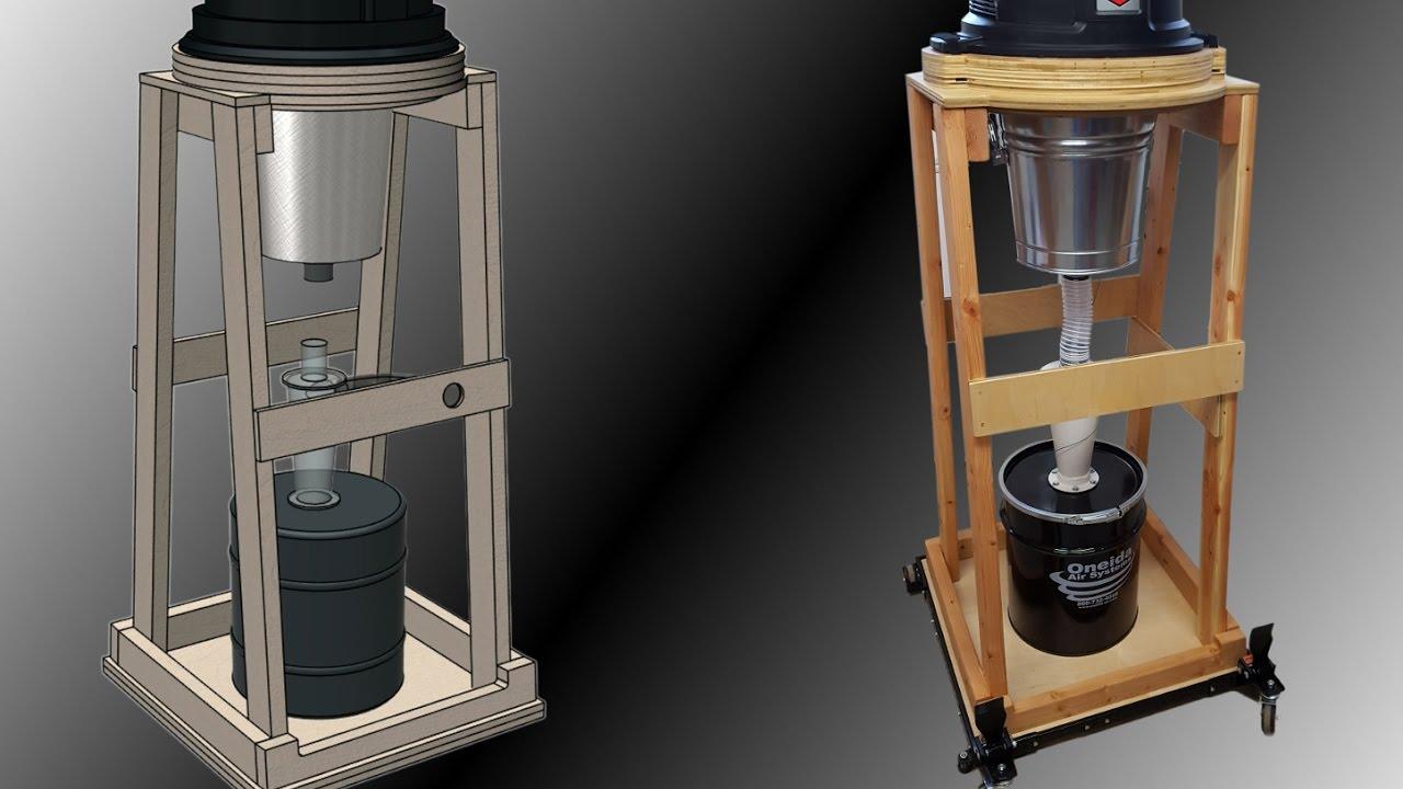 Shop Vac Dust Separator Cart