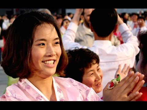 2015 May Day Mass Dances in Kim Il Sung Square, Pyongyang, DPRK (North Korea)