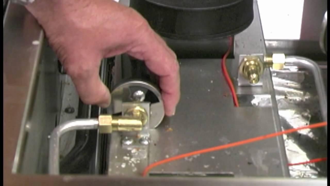 Capital Culinarian Air Shutter Adjustment - YouTube