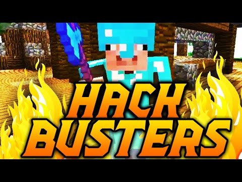 EPIC PRANK ON HACKERS! Minecraft Hack Busters #9