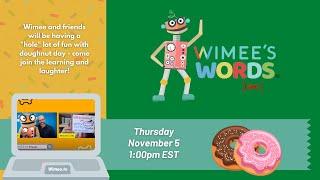 Wimee's Words - November 5, 2020