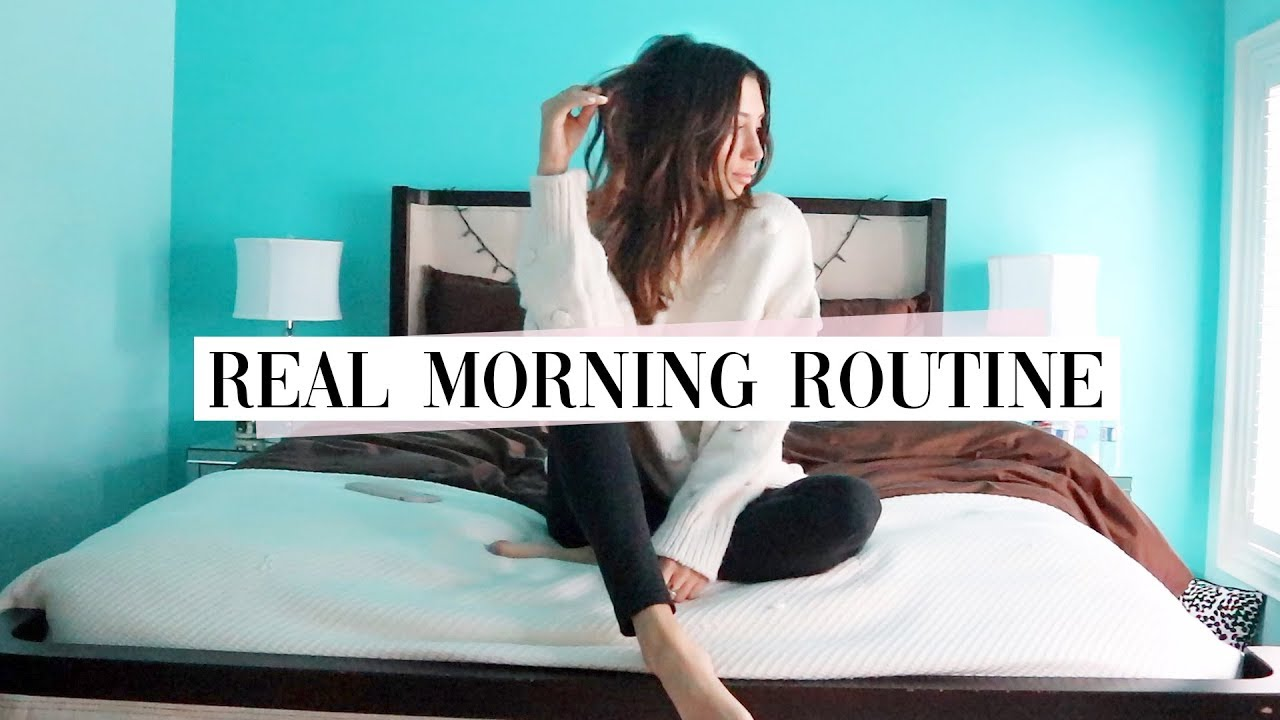 My Real Morning Routine Vlog Style Youtube