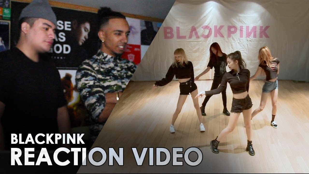 Blackpink Playing With Fire Dance Practice Reaction Video Symmetry