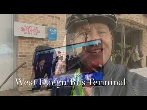 20171113 Korean Bike Passport- WOW Motel-Nakdonggang Bike Booth, and back to Daegu