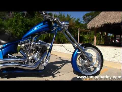 """2005 Big Dog Chopper with 117"""" Engine, Baker 6 Speed and Vance & Hines"""