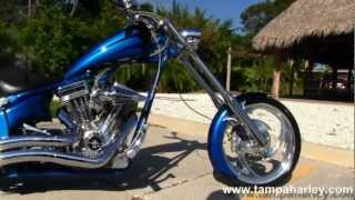 "2005 Big Dog Chopper With 117"" Engine, Baker 6 Speed And Vance & Hines"