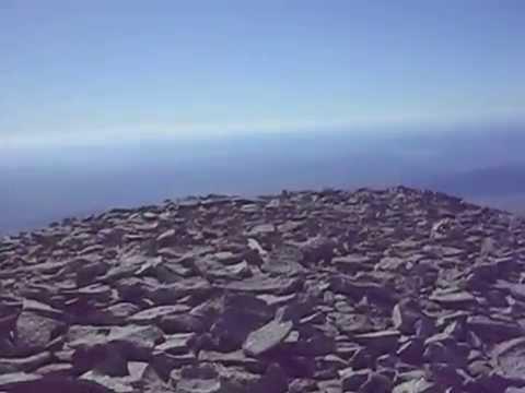 "Walking around the top of Mount Tukuhnikivatz - a Utah ""12er"""