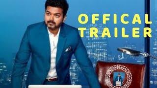 Sarkar Official Trailer Fanmade  by Viro