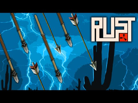 RAINING SPEARS AND ARROWS ★ Rust (16): Survival Games thumbnail