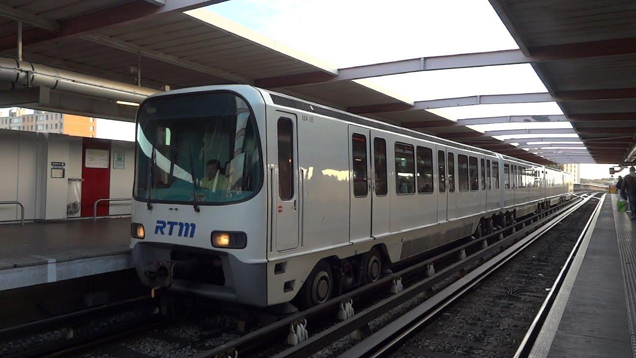 M tro de marseille youtube for Metro interieur