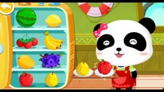 Мультики для детей Малыш Панда Кики Делаем мороженое часть 2