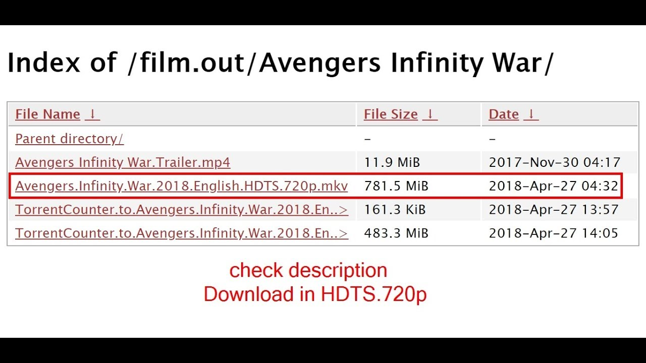 Download avengers infinity war full movie🎬 in Hindi/English | check  description