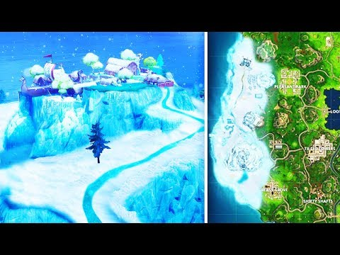 The *NEW* Winter Biome In Fortnite: Battle Royale..