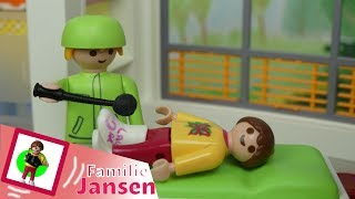 "Video Playmobil Film ""Kommt heute endlich der Gips ab?"" Familie Jansen / Kinderfilm / Kinderserie/Kids download MP3, 3GP, MP4, WEBM, AVI, FLV Januari 2018"