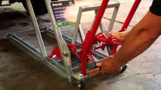 ProLift Lawn Mower Lift  with 4bar Design