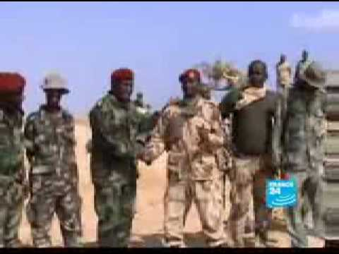 Djibouti and Eritrea , Anxious soldiers on the front lines .