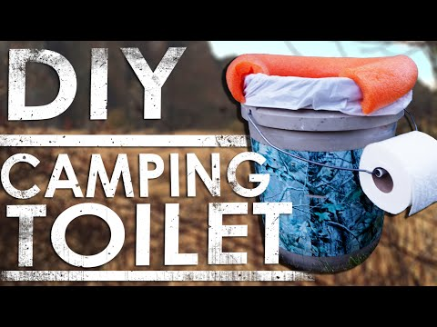 Camping Toilet Diy W Bucket Easy The Sticks Outfitter Ep 19