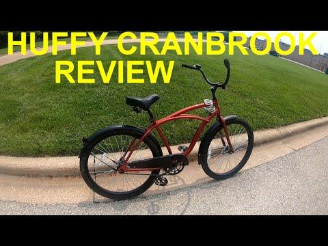 2019 Walmart Huffy Cranbrook Beach Cruiser Review & Ride-Along