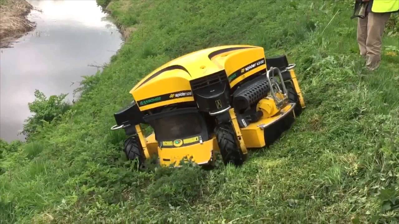 Spider Mower Demo Youtube