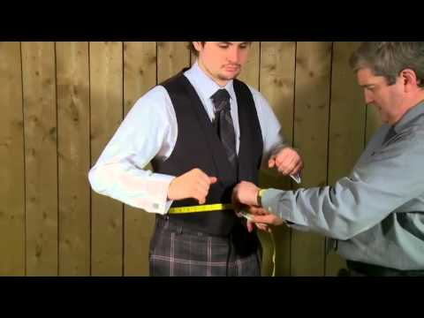 Measuring For A 3 Button Waistcoat | Houston Kiltmakers