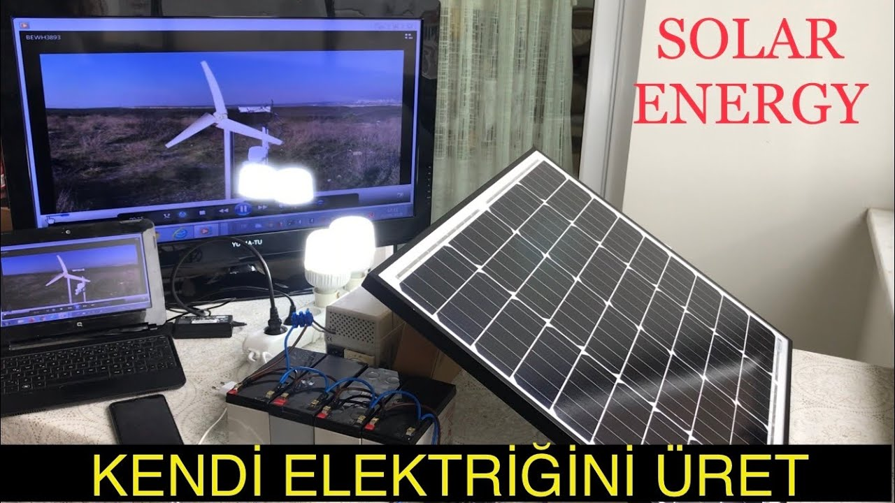 20 Watt mono kristal güneş paneli ile neler çalıştırabiliriz ?