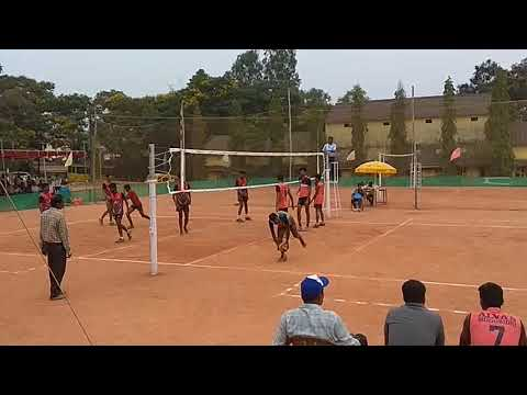 Alva's Vs SDM Mangalore University Inter Zone Volleyball Final Match 2019