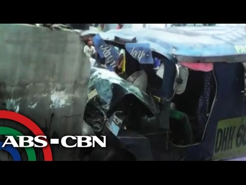 2 killed after overloaded jeepney rams wall in Antipolo