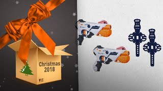 Top 10 Nerf Laser Ops Pro & Laser Tags Gift Ideas / Countdown To Christmas 2018!