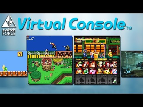 The Switch Virtual Console Games We WANT At E3 2017