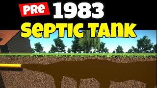 pre 1983 septic tank