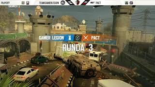 Rainbow Six Siege Masters League Finały - Sezon 2 Dzień 1 - Team GamerLegion vs Actina PACT