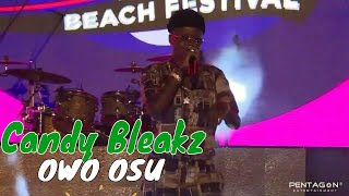 Candy Bleakz Performs OWO OSU ft Naira Marley & Zlatan and FREESTYLES @LOUDBEACHFEST 2019