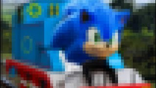 [RareGalaxy5] I Turned Thomas Into Sonic The Hedgehog! (Looks Real!!)