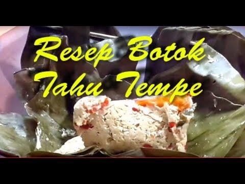 Resep Masakan : Botok Tahu Tempe
