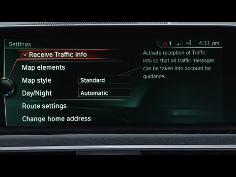 Activate Real-Time Traffic Information | BMW Genius How-To