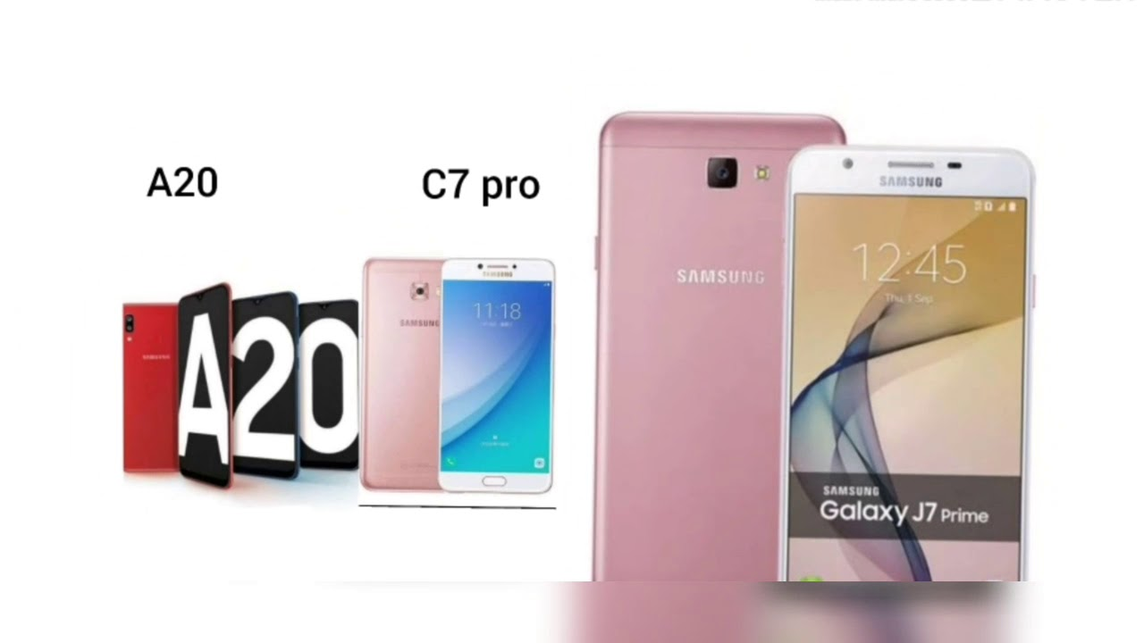 Samsung A20 and Samsung C7pro FOTA, Samsung Galaxy J7prime Android pie