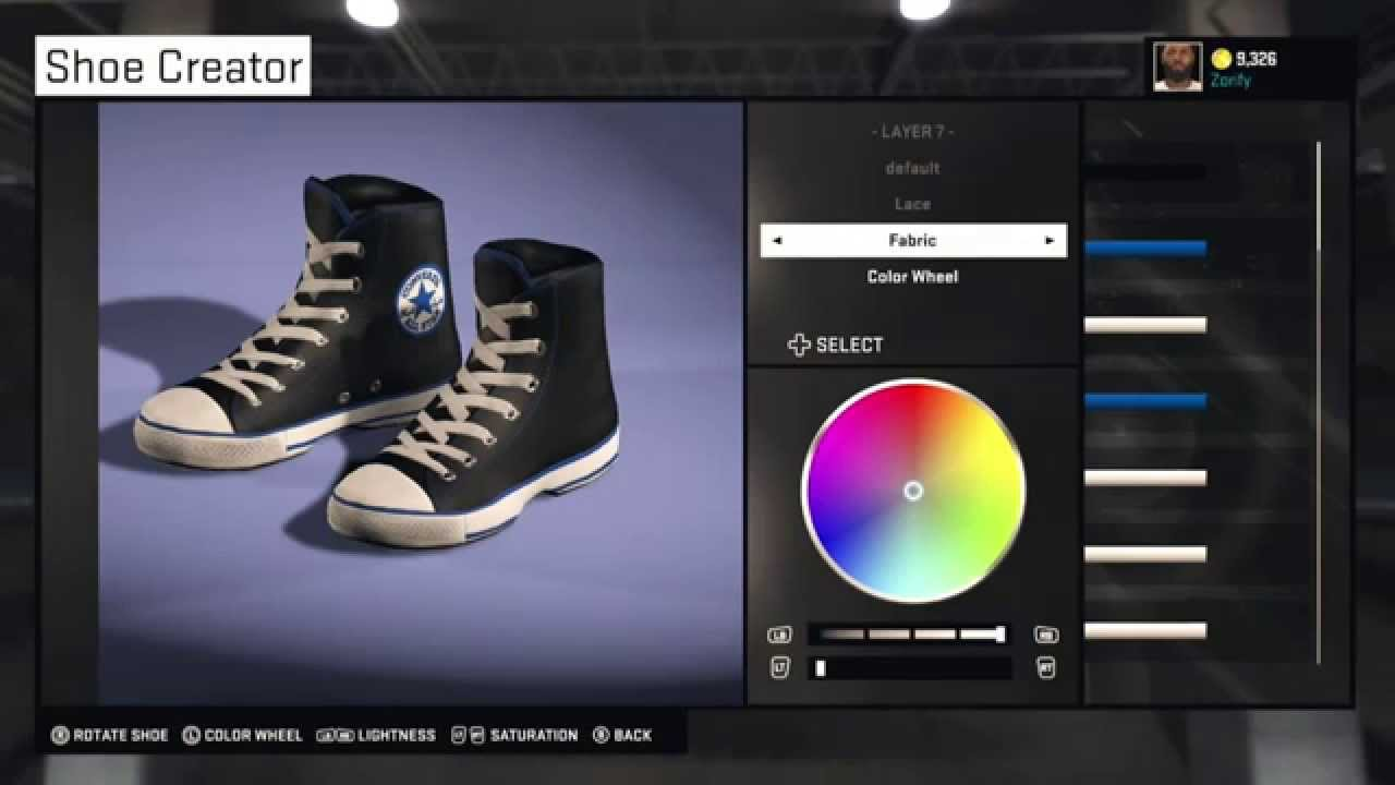 converse shoes 2k16 cover
