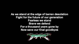 DragonForce - Last Man Stands | Lyrics on screen | HD