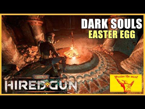 Necromunda: Hired Gun - Easter Egg Dark Souls - Praise the Sun