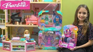 Barbie Story: Barbie and Ken are Busy and Chelsea Goes to Play with Shimmer and Shine Fun Toys