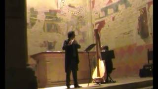"""W.A Mozart """"Adagio"""" dal quartetto in re maggiore, San Bevignate, A. Ceccomori. L Vinciguerra"""