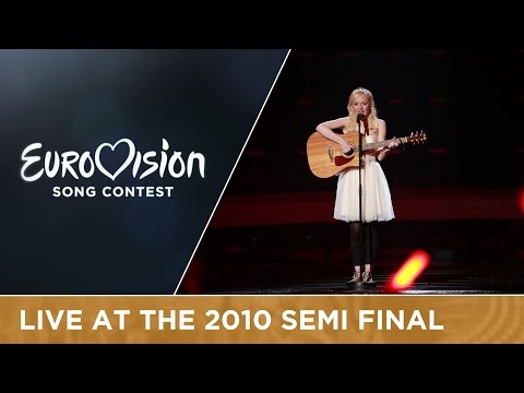 Anna Bergendahl - This Is My Life (Sweden) Live 2010 Eurovision Song Contest