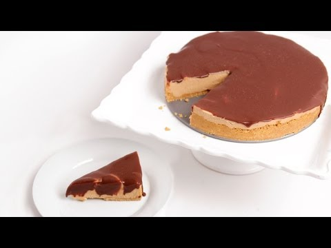No Bake Peanut Butter Cheesecake Recipe - Laura Vitale - Laura in the Kitchen Episode 763